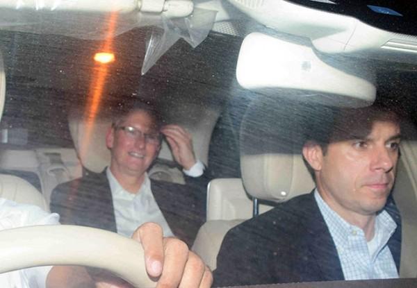 蒂姆·库克出席宝莱坞名流晚宴