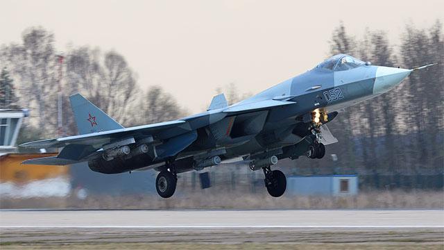 俄五代机外挂炸弹隐身性全无