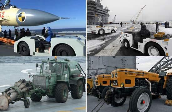 中美俄印航母特种车辆对比