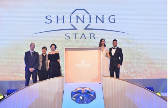 钻石世家逆势发力上海 任达华琦琦现场见证新一代钻石发布