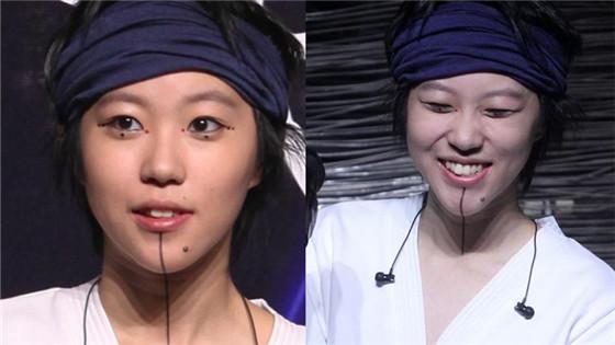 """窦靖童画个性妆容 自认比酷妈王菲""""好一点"""""""