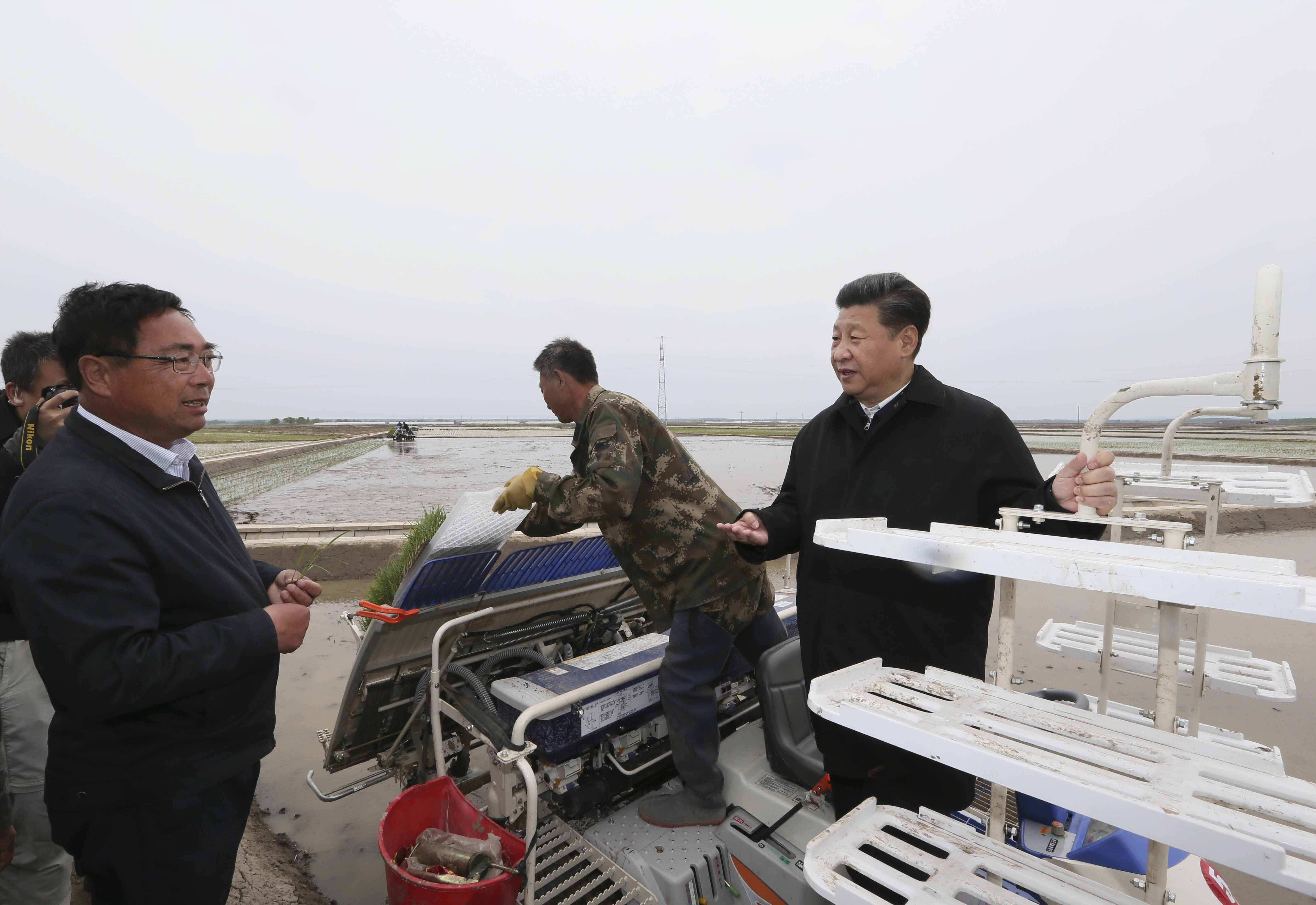 习近平考察黑龙江 谈农业、登黑瞎子岛、看望赫哲族群众