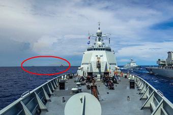 对比以往外国对中国海军监视