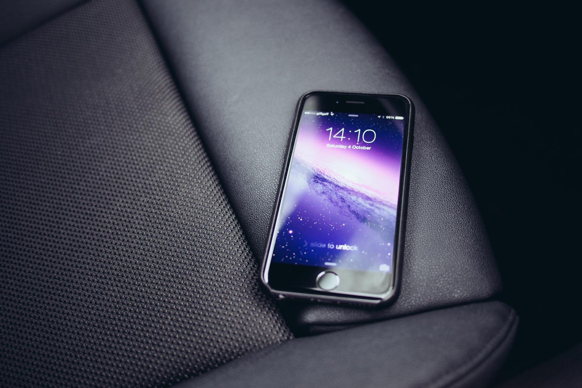 苹果申请新专利 iPhone成为临时车钥匙