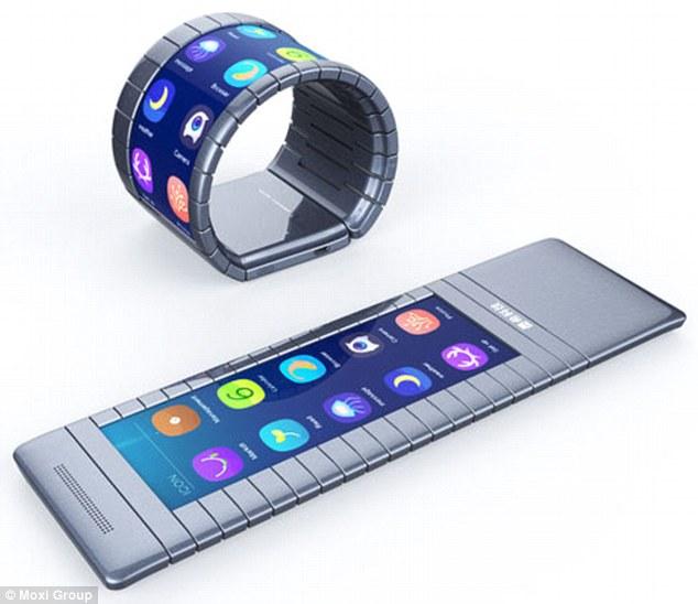 中国首款可弯曲智能手机引关注 被赞超越苹果三星