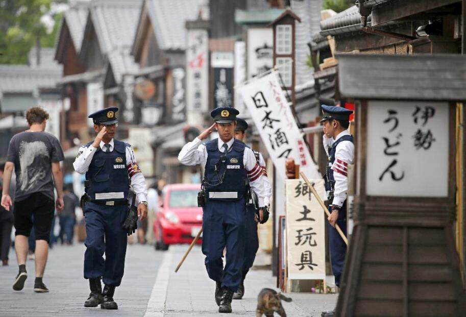 日本出动2.3万警力保卫G7峰会 自卫队7艘舰艇随时待命(组图)