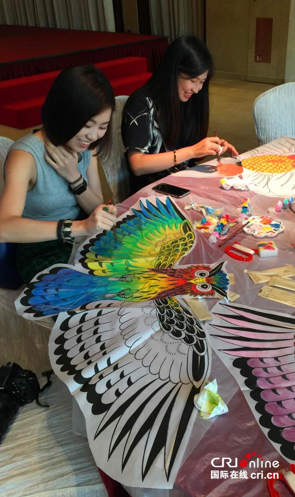 潍坊风筝展在澳门举行