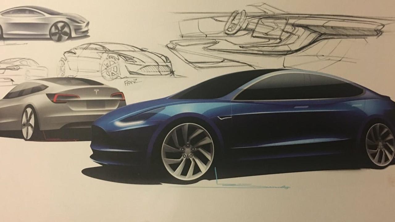 特斯拉Model 3最新细节公布 续航346公里