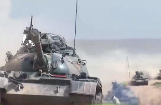 59坦克超视距攻击14公里外目标