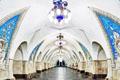 宛如宫殿的莫斯科地铁站
