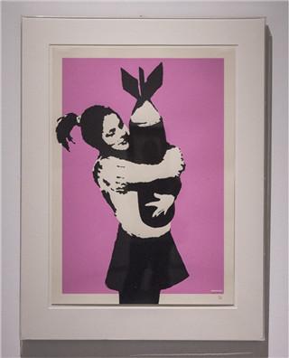 Banksy罗马开展 创意十足讽刺意味浓厚