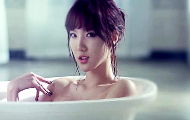 韩国女团Stellar《Marionette》画面沐浴性感曝娜奥米沃茨性感图片