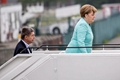 默克尔赴日本参加G7 十年来首度携丈夫出访