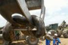 修建水库炸出800斤巨蟒