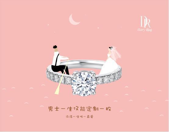 一生只能买一次的戒指,见证了无数DR族的爱情