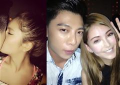 昆凌与男化妆师贴脸疑接吻