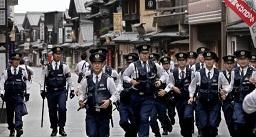 日本G7峰会在三重县开幕 会场周边上演警察安保大戏