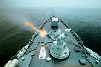 南海舰队完成训练任务返回三亚
