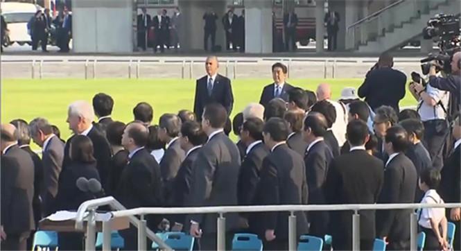 奥巴马成首位访问广岛在任美国总统