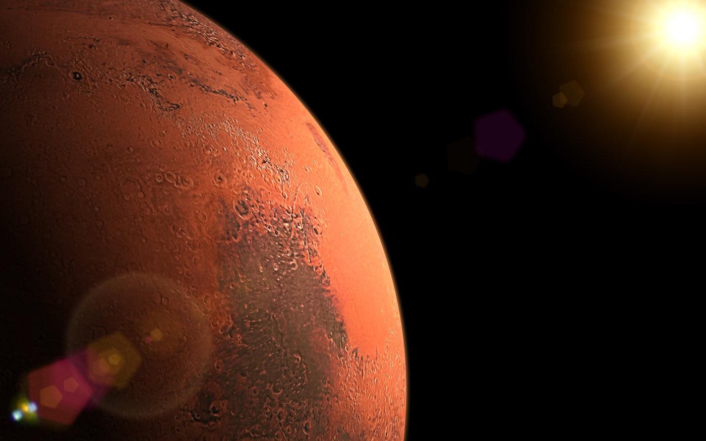 火星经历多次冰期循环