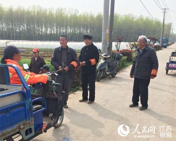 """南京八卦洲党建创新:""""一周书记""""群众点赞"""