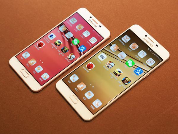 三星C5/C7发布:外形酷似iPhone 2199元起售