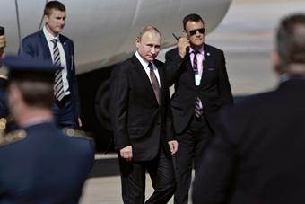 俄罗斯总统普京访问希腊