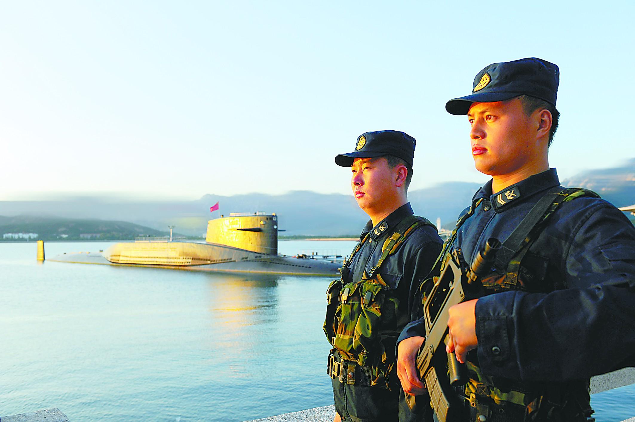 社评:战略核潜艇值班将增加中国安全