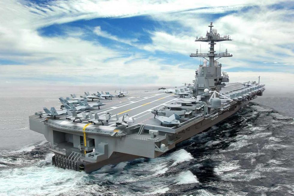 英媒称美国造新型航母大错特错:面对中国只是靶子