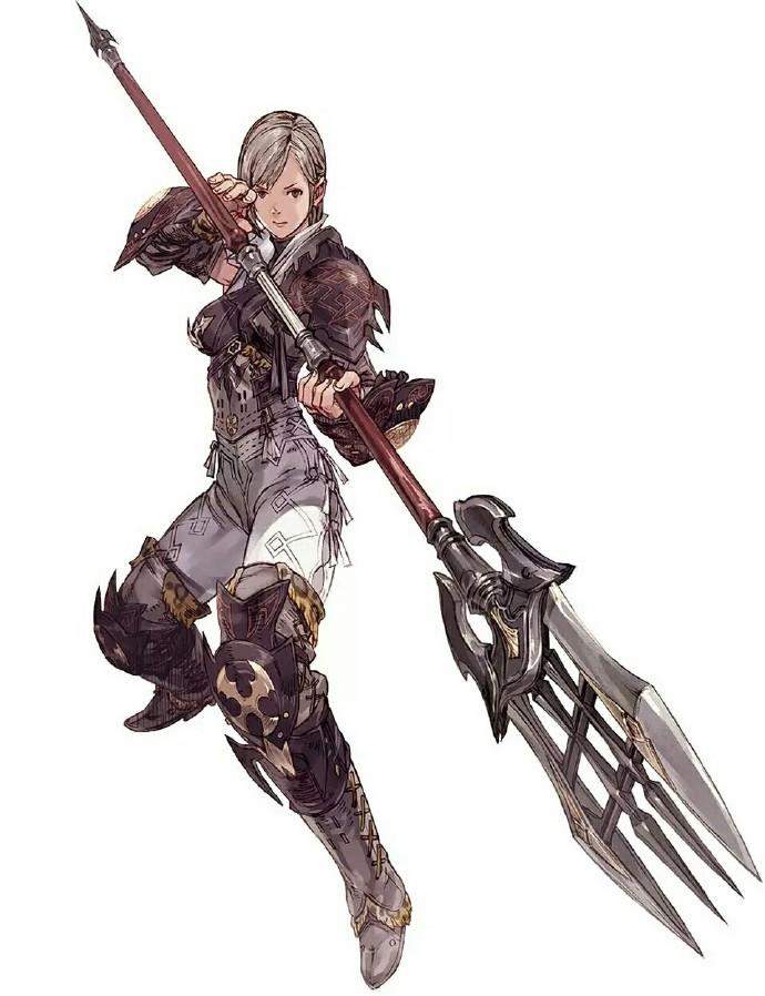 《最终幻想XIV》 人物设定图一览