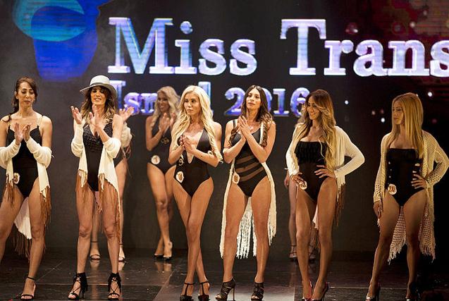 环球图片一周精选 以色列举行变性人选美大赛