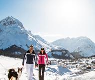 奥地利滑雪胜地莱希 体会世界顶级雪道魅力
