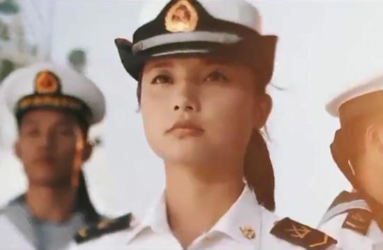 海军发布征兵宣传片 高颜值女兵出镜