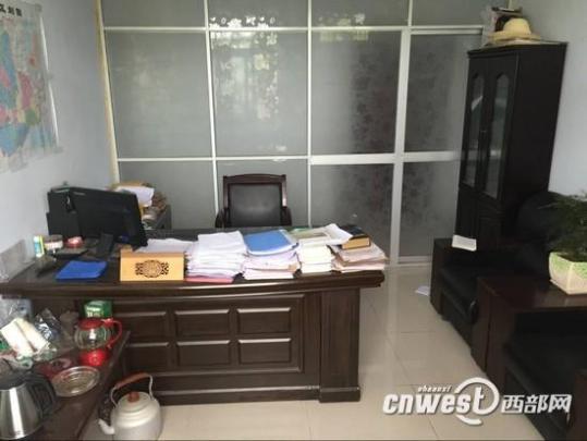 陕西1名村民在镇党委副书记办公室上吊身亡(图)