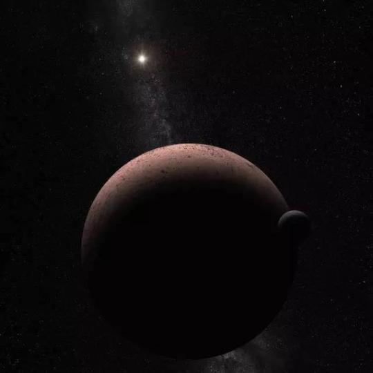 发现鸟神星的卫星