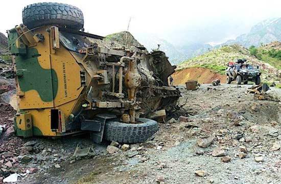 土耳其防雷车遭1吨炸药伏击