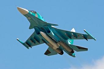 俄军将苏34战机部署远东地区