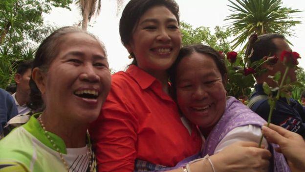 英媒:泰国前美女总理英拉有重返政坛迹象