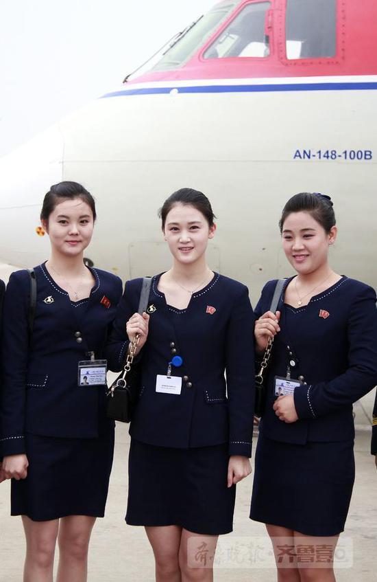 济南平壤航线飞机曾为金正恩专机 空姐讲中文