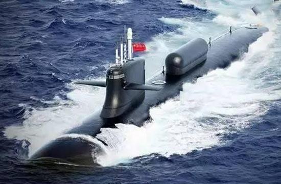 提前领略中国095A核潜艇风采