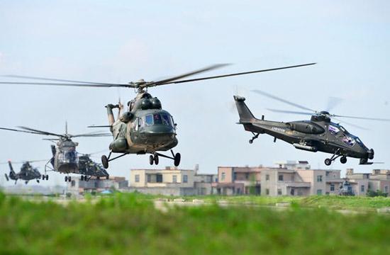 陆航直升机最全的一次集体合影