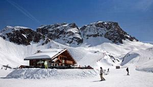 法国拉普拉涅 欧洲的滑雪天堂