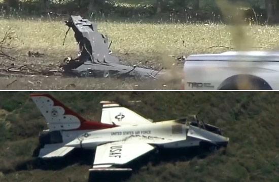 美军同一天坠毁两架表演机