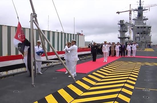 埃及接收首艘西北风级两栖舰
