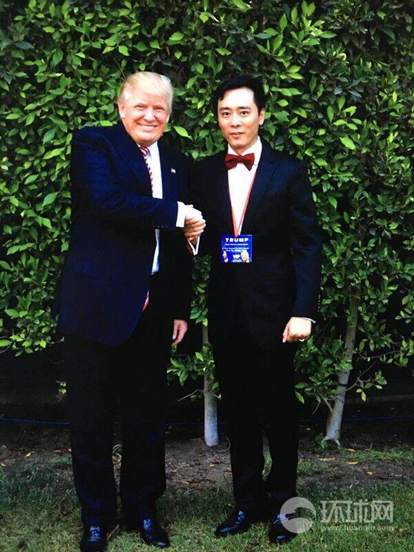 特朗普首次与华裔支持者近距离接触家中会见华裔助选团