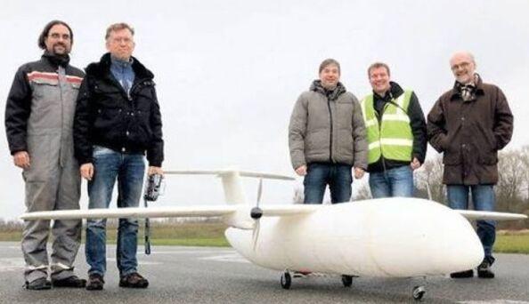 全球首架3D打印飞机Thor亮相柏林 仅重21公斤