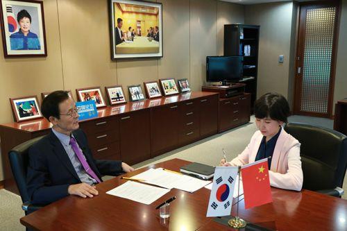 韩驻华大使:中韩关系成果丰硕?对9.3?#35851;?#35760;忆犹新