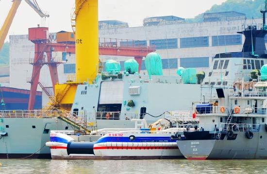 最新一艘054A型护卫舰下水