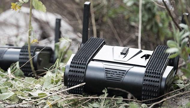 以色列微型无人驾驶坦克问世!360度无死角侦查
