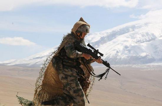 海拔3900多米狙击手训练啥样